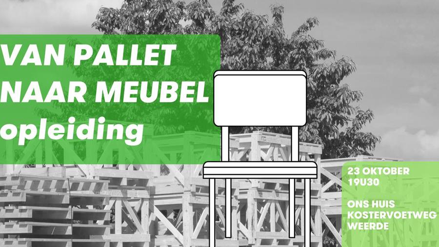 Houten Pallet Meubelen : Van pallet tot meubel opleidingsavond in weerde beweging